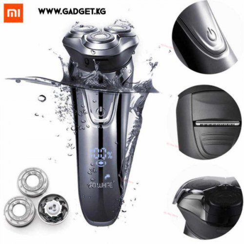 Электробритва Xiaomi PINJING SO White 3D Smart shaver Black ES3