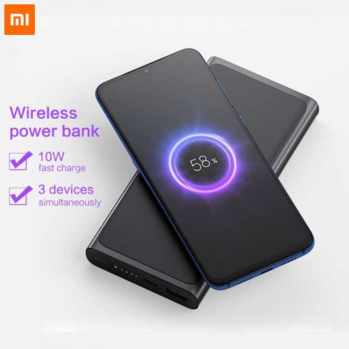 Внешний Аккумулятор Xiaomi Mi Wireless Charger Power Bank 10000 mAh