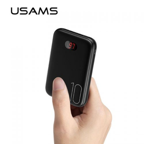 Power Bank USAMS PB9 Dual USB 10000mAh (US-CD66), ток 2.1A
