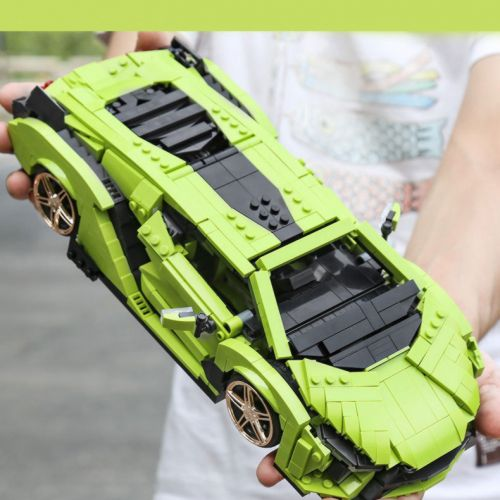 Конструктор Mould King 10011 Lamborghini Sian 1168 деталей
