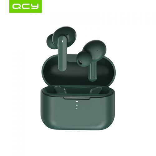 Беспроводные наушники QCY T10 TWS Dual-Armature Bluetooth Earbuds Black